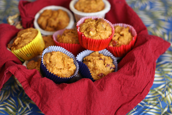 Post image for Whole Wheat Muffins