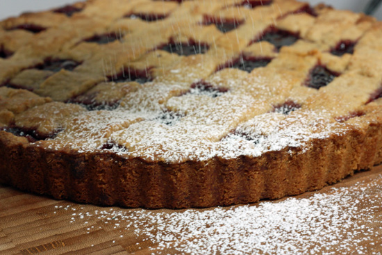 Cherry Linzertorte recipe
