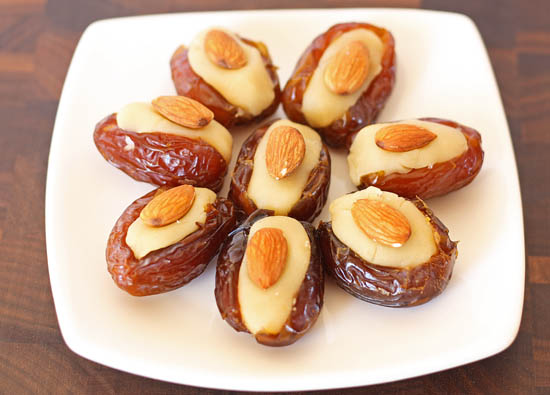 Post image for Almond Stuffed Dates for Tu B'Shevat
