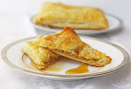 Apple and Honey Turnovers recipe