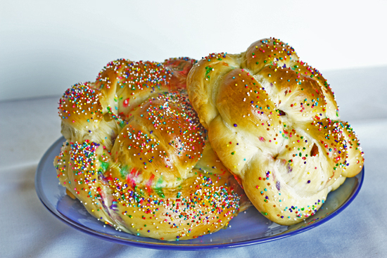 Holiday Challah recipe