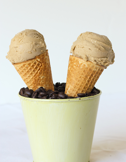 Coffee Ice Cream and How to Make Great Ice Cream without an Ice Cream Maker recipe