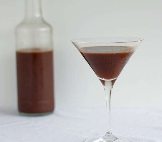 Post image for Homemade Chocolate Liqueur