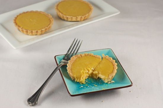 Post image for Passion Fruit Ganache Tarts