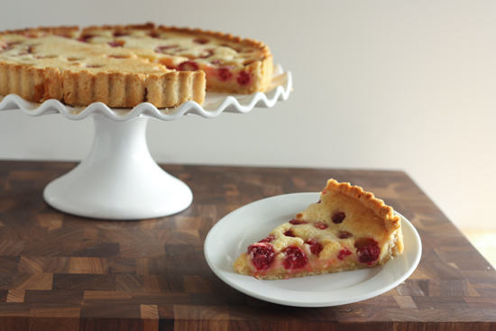 Meyer Lemon Raspberry Tart recipe