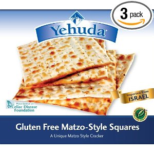 Post image for Gluten Free Eating on Pesach and a Great New Product
