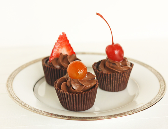 Post image for Chocolate Ganache Cups