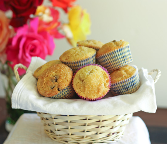 Kumquat Chocolate Chip Muffins recipe