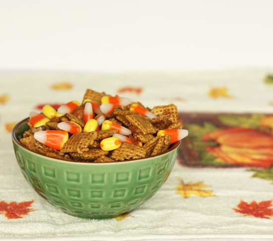 Post image for Candy Corn Chex Mix