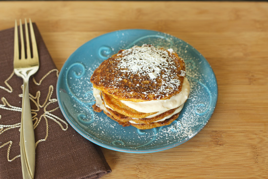 Post image for Carrot Cake Pancakes