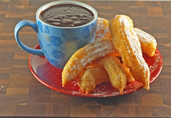 Post image for Churros con Chocolate