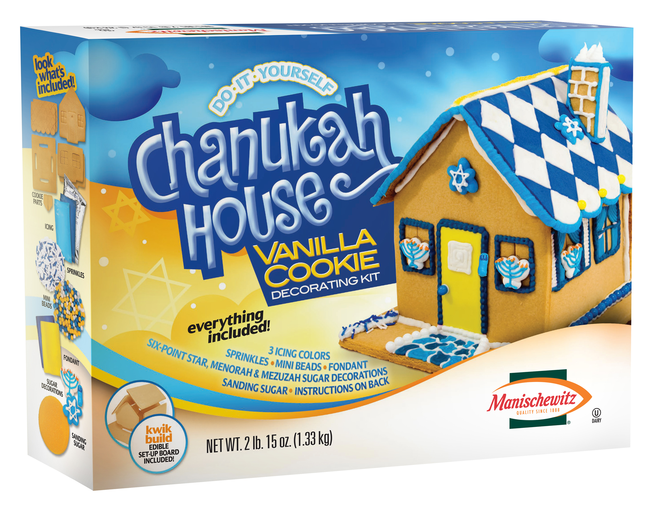 Win a Chanukkah Cookie House Decorating Kit