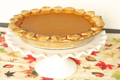 pumpkin pie whole 550