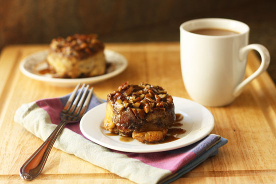 Post image for Sticky Bun French Toast