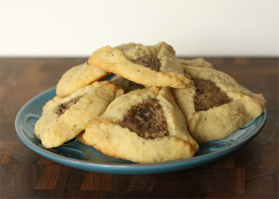 Post image for Chocolate Chip Cookie Dough Filled Hamentashen