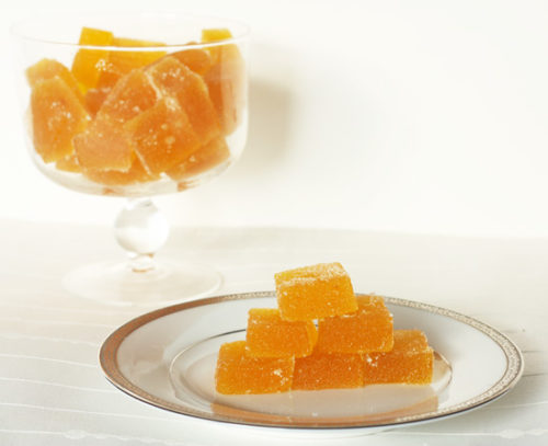 Kumquat Pate De Fruit