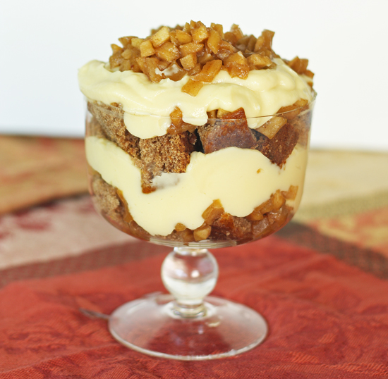 Post image for Apple and Honey Trifle