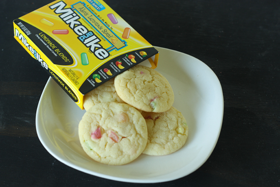 mike and ike lemon cookies