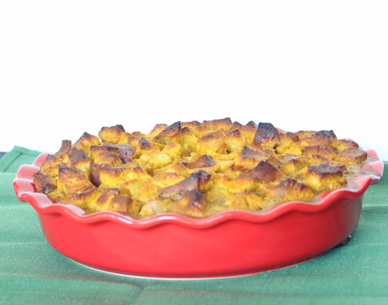 Post image for Pumpkin Bread Pudding