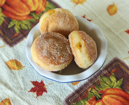 Post image for Pumpkin Pie Sufganiot