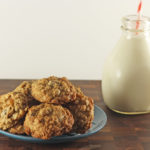 Ginger Chocolate Oatmeal Cookies