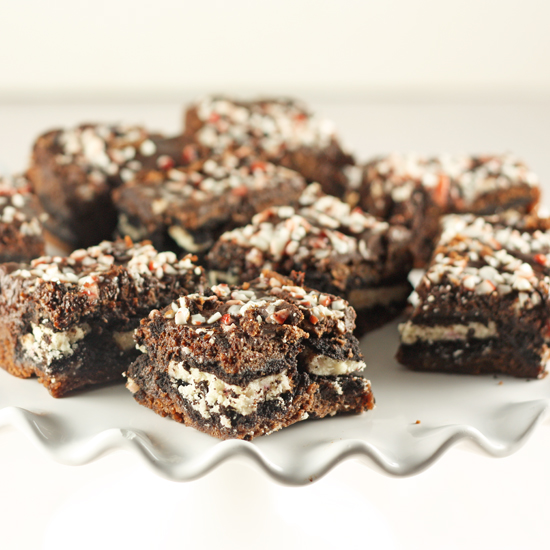 Post image for Candy Cane Jo-Jo Brownies