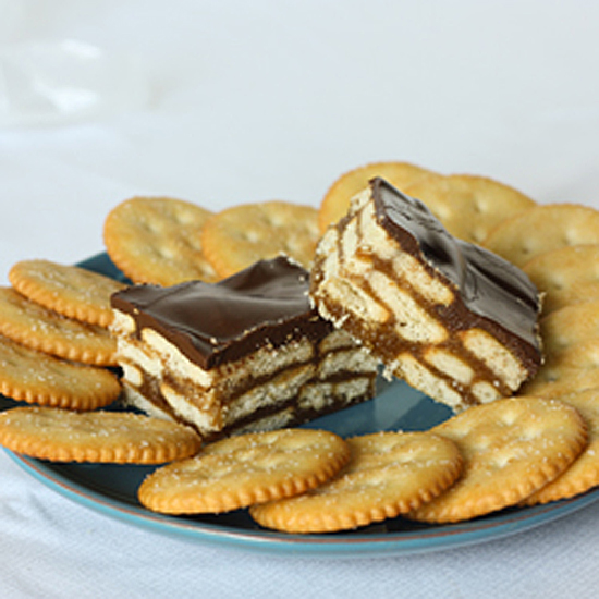 Post image for Crispy Chocolate Peanut Butter Bars