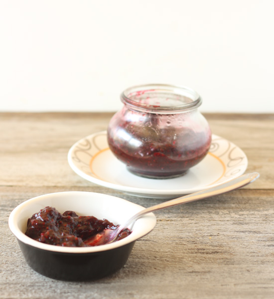 Post image for Mixed Berry Chia Jam