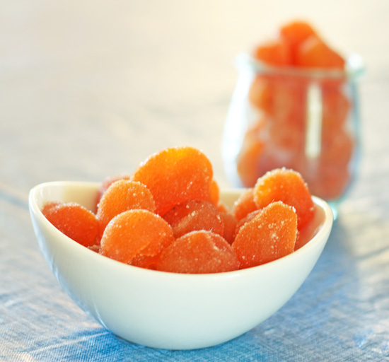 Chinese Style Candied Kumquats