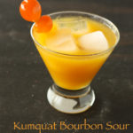 Kumquat Bourbon Sour Recipe