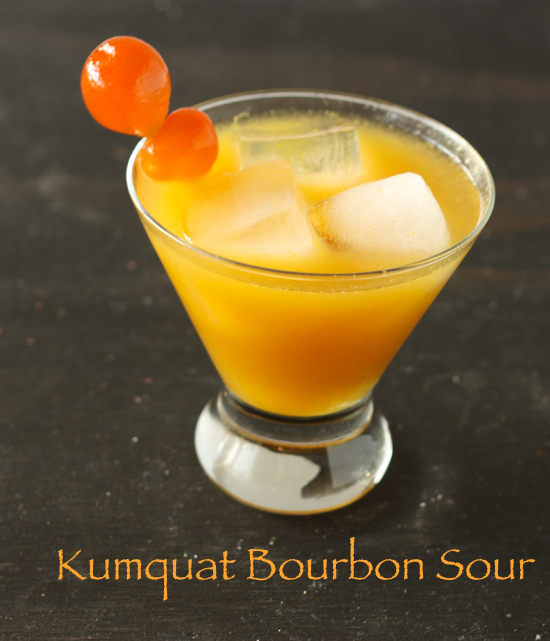 Kumquat Bourbon Sour