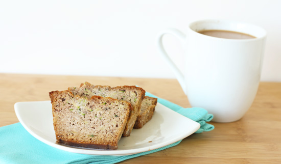 Post image for Grain-Free Zucchini Bread