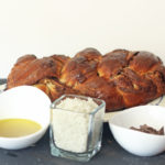 Chocolate Olive Oil Challah with Sea Salt Recipe