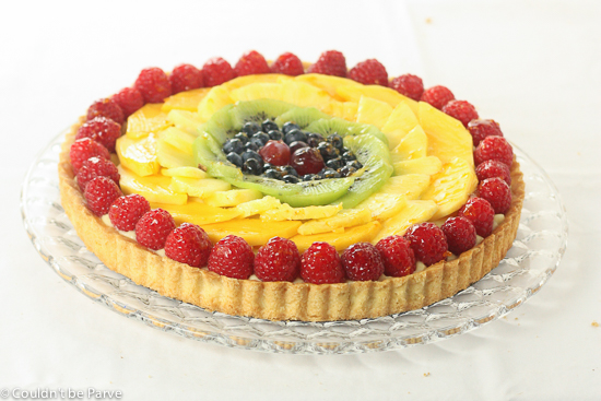 Post image for Rainbow Fruit Tart