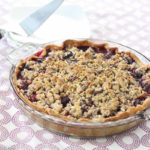 Cherry Pie with Chocolate Almond Streusel for the Pi Day of the Century Recipe