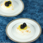 Coconut Meringue Nests with Lime Curd and Blackberries Recipe