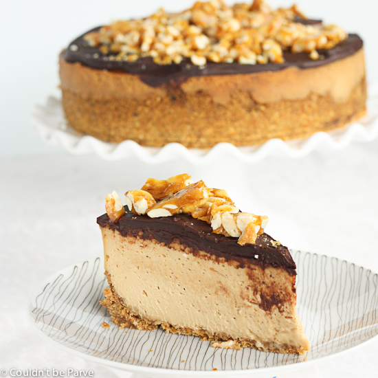 Post image for Peanut Butter Cheesecake with a Pretzel Crust