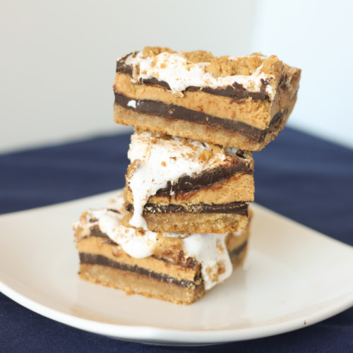 peanut butter smore bars
