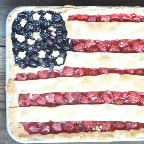 Flag Slab Pie