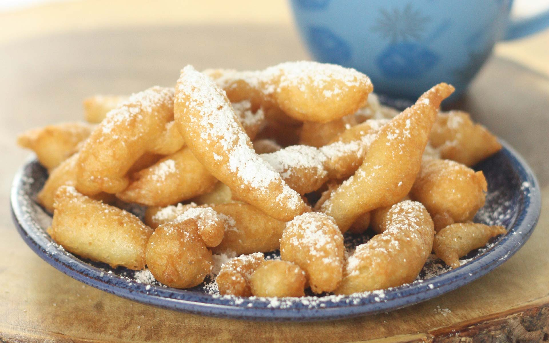 Easy Funnel Cake With Pancake Mix