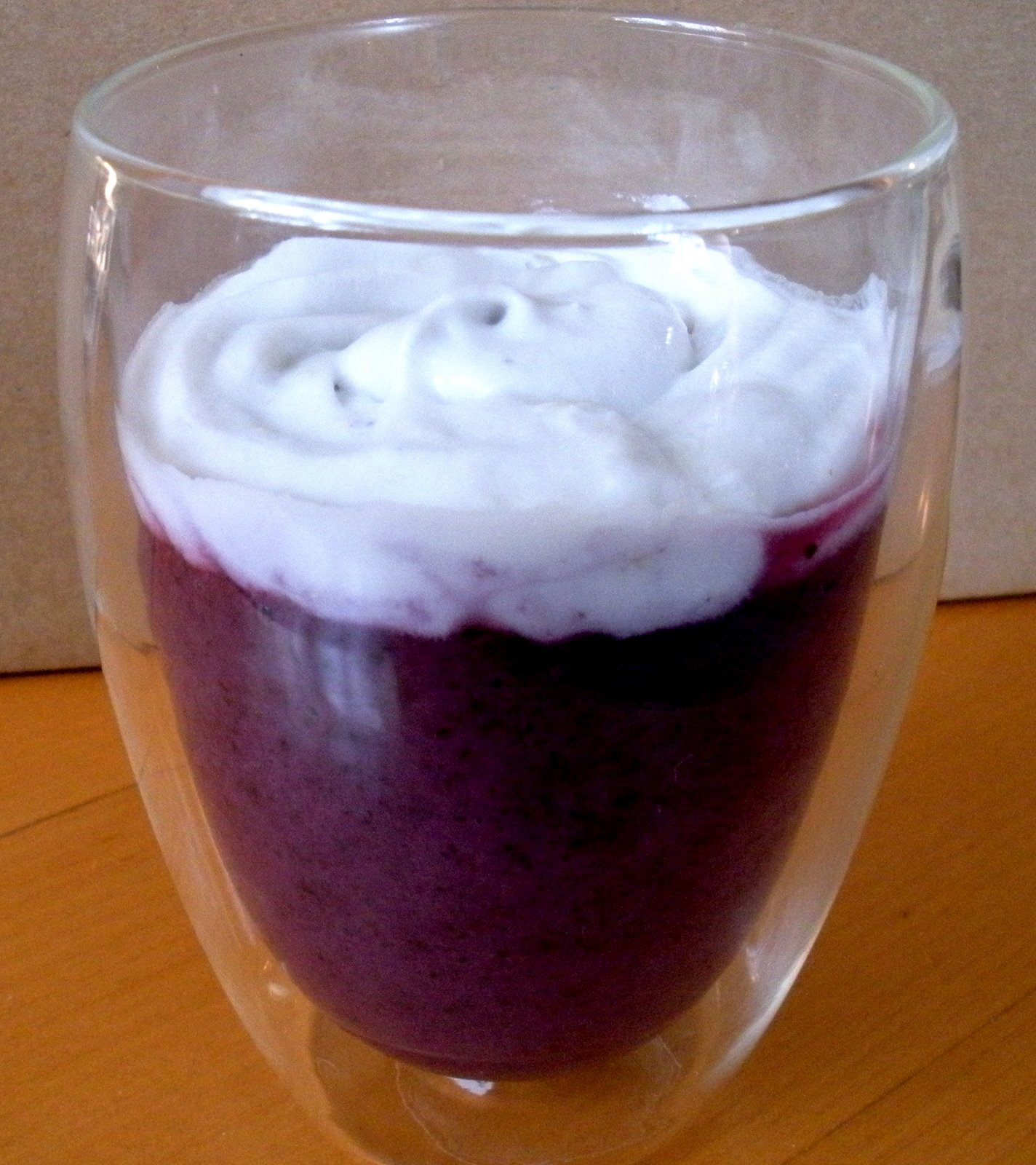 Blueberry Mousse recipe