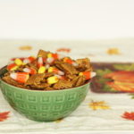 Candy Corn Chex Mix Recipe