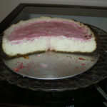Ginger Cheesecake with Sour Cherry Compote Recipe