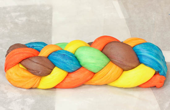 Six Strand Challah Braid Tutorial recipe