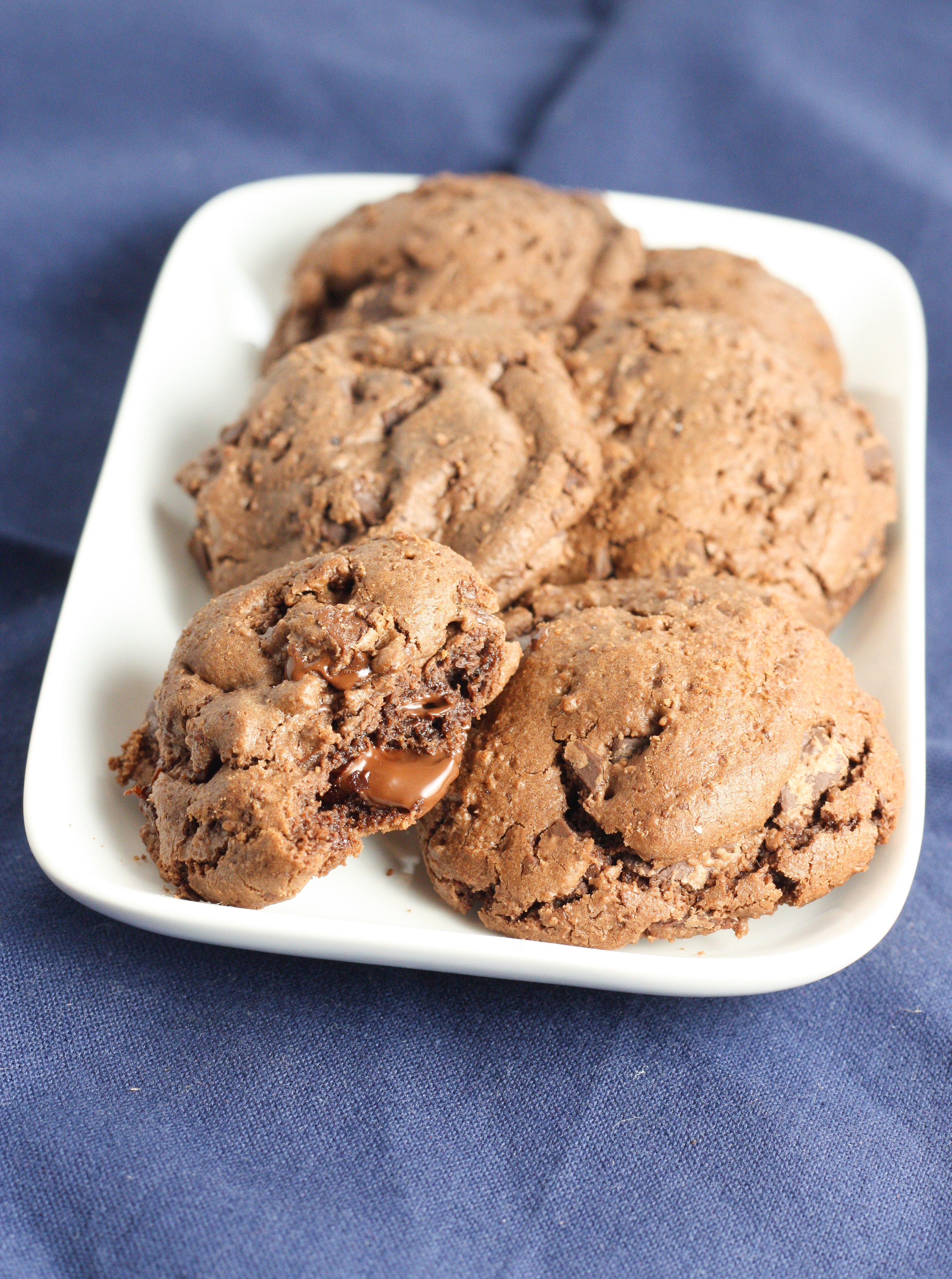 almond butter chocolate chip cookies passover